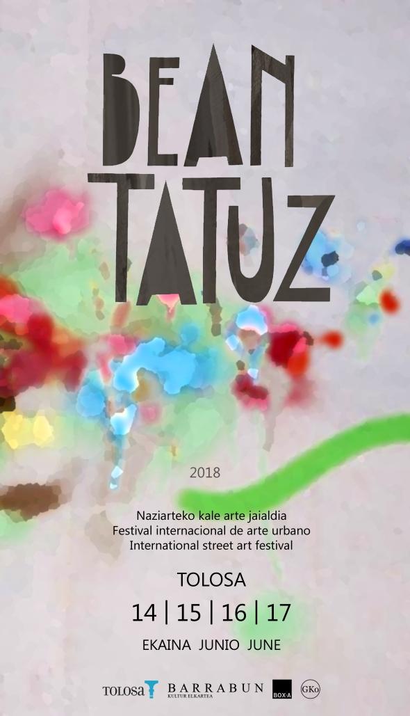beantatuz 201 gipuzkoa basquecountry tolosaldea streetart urbanart kaleartejaialdia festival